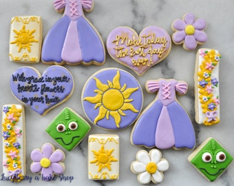 Rapunzel Sugar Cookies