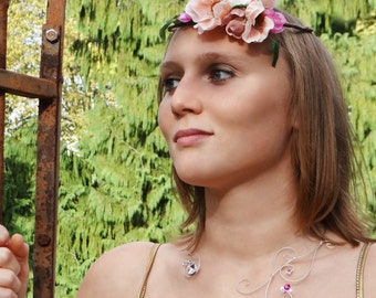 Flower crown marriage