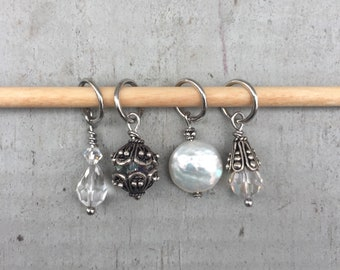 Here Comes the Bride Stitch Marker Set