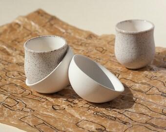 Shot Glasses, Ceramic Set, Barware Set, Wedding Shot Glasses, Pottery Gift, Bachelorette Party Cups, Personalized Shots, Glazed Pottery
