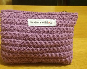 Pouch /cosmetic bag Handmade crochet