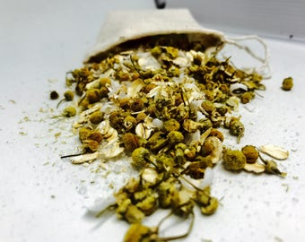 Floral Bath Soaks | Chamomile | Bath Teas | Bath Tea Bags | Organic Bath Teas | Tub Tea | Spa Gifts | Gifts for Sister | Gifts for Co-Worker