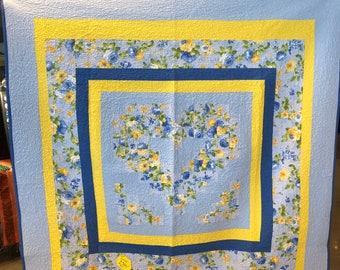 Romantic Watercolor quilt