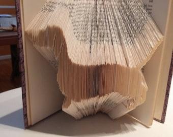 Dachshund Folded Book