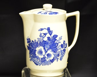 Electric Ceramic Teapot Made in Japan - Vintage Item #1333  ON SALE NOW!!