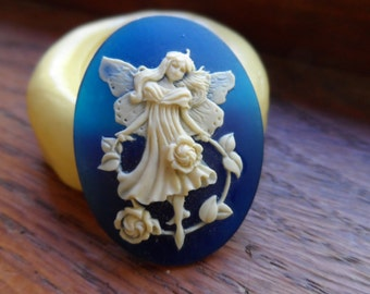 Beautiful Dancing Fairy Silicone puch mold for Resin, Clay or Sugar Craft
