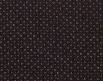 By The HALF YARD - Ducks in a Row by American Jane for Moda Fabrics, Licorice #21657-18