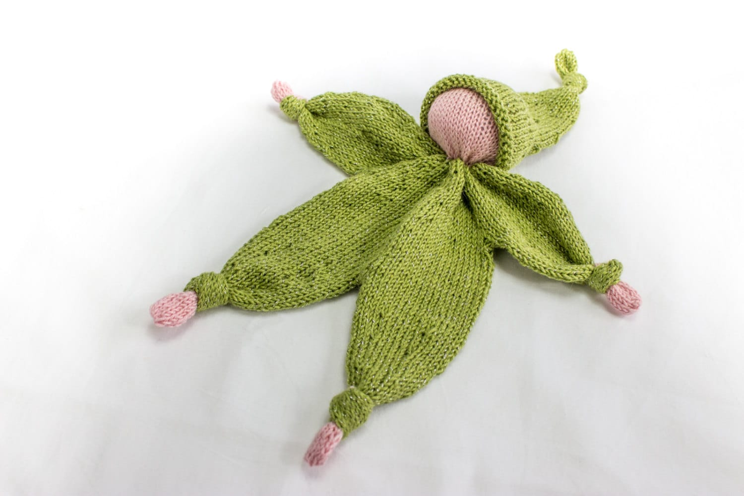 KNITTING PATTERN, Doll, Softies, Lovey Doll, Baby Comforter, Small ...