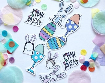 Easter tattoos etsy temporary tattoos easter sugar free gifts pack of 10 negle Choice Image