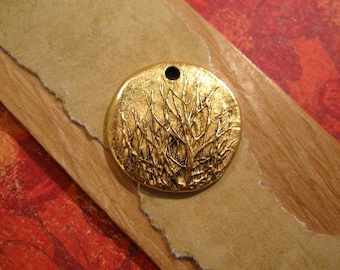 Rocky Mountain Charm in Antique Gold from Nunn Design