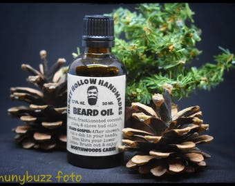 Northwoods Cabin ~ beard oil