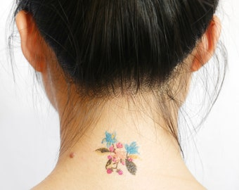 temporary tattoo wedding tattoo sticker fake tattoo small temporary tattoos tiny tattoo tatouage temporaire fleur faux tattoo faux tatouage