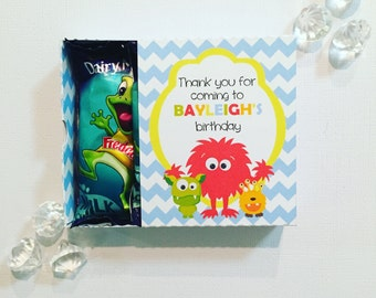 Monster party  matchboxes