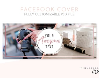 Facebook Cover Template, facebook timeline, facebook cover, facebook cover photo, facebook banner, fb photo cover, facebook marketing, FB1