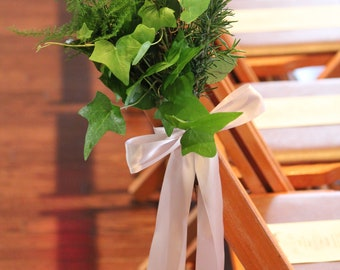 Fresh Green Aisle Markers Set of 6