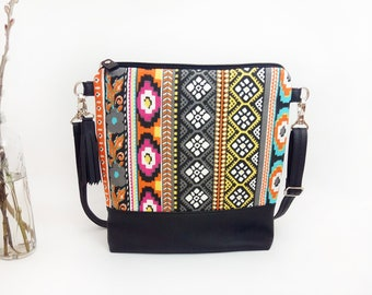 Crossbody Bags CrossBody Bag Small Handbag Navajo Crossbody purse Mothers Day Gift Idea Vegan Shoulder bag Gift for mom