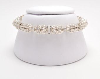 Persiantine Bracelet in Sterling Silver