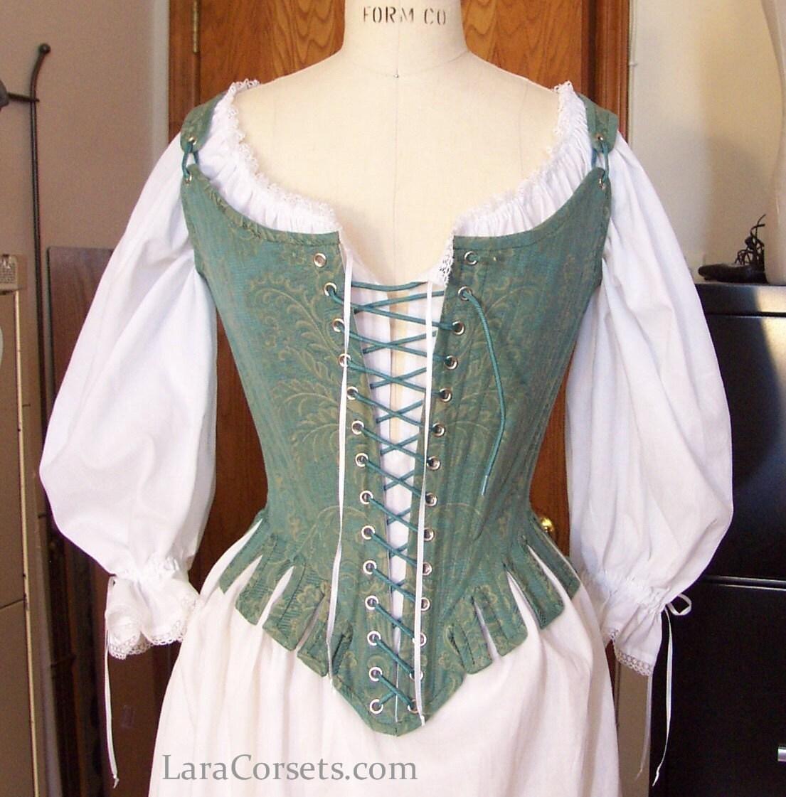 1770s Stays 18th Century Corset Custom order