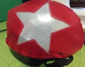 ADULT Roller Derby Set of Regulation Jammer and Pivot Helmet Covers - Practice Panties for ADULT Roller Derby.