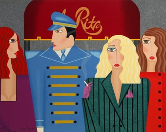 The Ritz by Robin Morris