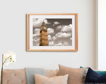Always Big.  London, photography, lines, decor, wall art, artwork, large format photo.