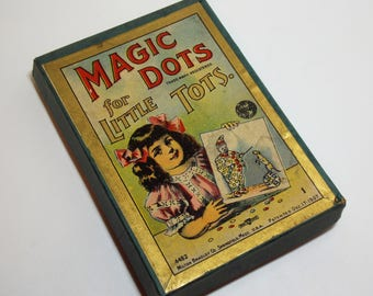 Magic Dots for Little Tots by Milton Bradley Edwardian Games for Children