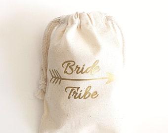 Bride Tribe Bachelorette Party Favor bags Bachelorette party decorations