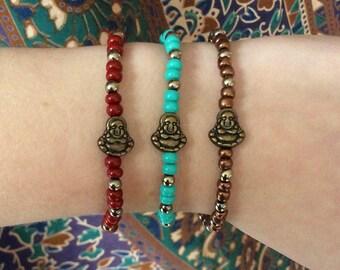 Happy Budda bracelets
