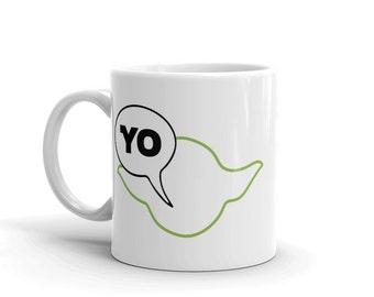 Yoda Star Wars Coffee Mug, Star Wars Mug, Yoda Mug, Star Wars Gift, Yoda Cup, Funny Star Wars Mug, Geek Mug, Nerdy Coffee Mug, Nerdy Gift