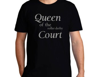 Queen Of The Roller Derby Court T-Shirt