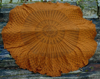Kentigern Shawl - PDF knitting pattern