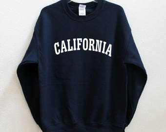 CALIFORNIA Graphic Print Unisex Sweatshirt