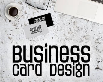 Custom Business Card Design - Customized