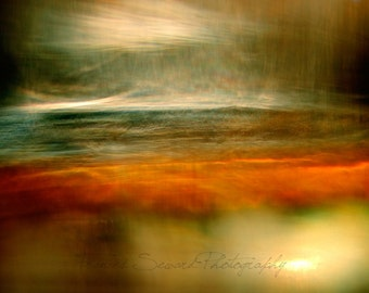 Deluge II. Handmade Fine Art Photo. Abstract Seascape.