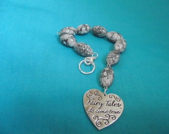 Fairy Tales Do Come True Bracelet/Keycharm