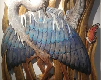 N:83 Great blue heron