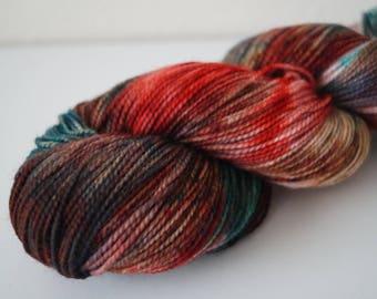 Day 9: Christmas Cookies on Twist Sock – Hand Dyed Yarn