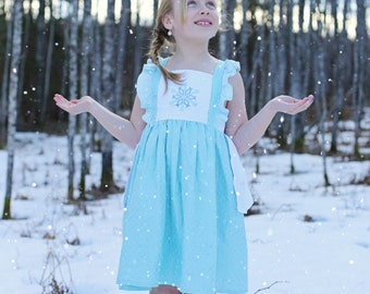 Elsa Dress, Elsa Play Dress, Frozen Dress, Elsa Birthday Dress, Princess Dress, Disney Princess, Boutique Dress