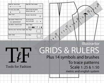Rules and grids to draw patterns