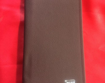 Leather JW Tract Holder