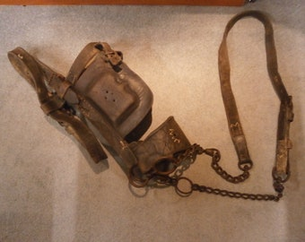 Late19th/Early 20th Century Pit Pony Bridle - Original - Antique