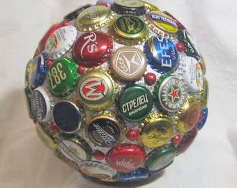 "Manual Work Beer Ball Decor House Bar Decoration Souvenir Diameter 17cm / 6.70"""