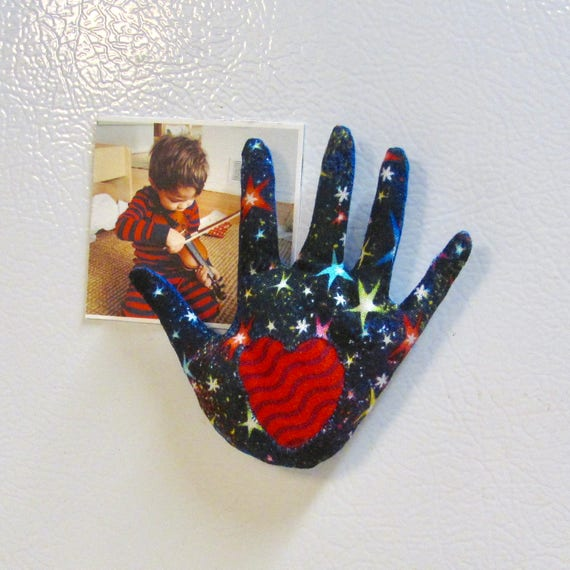 Starry Night Refrigerator Magnet ~ HAND-Maggie ~ Ready to Ship