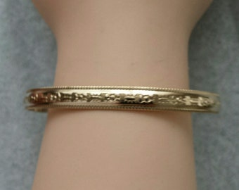 Gold Filled Cuff Bracelet
