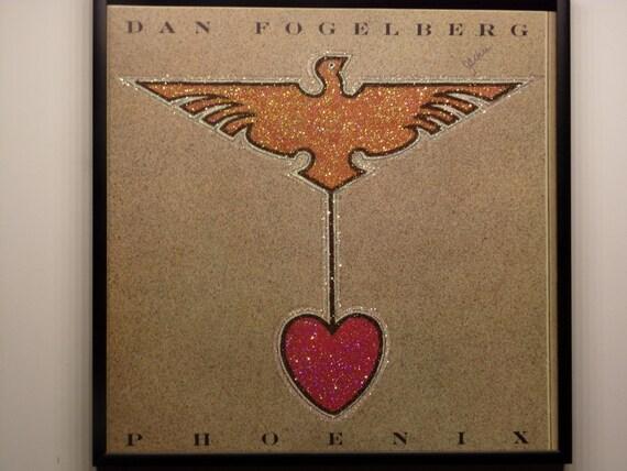 Glittered Record Album - Dan Fogelberg - Phoenix