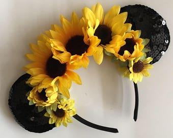 Minnie Sunflower Ears