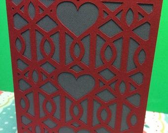 Valentine valentines card for him husband boyfriend fiancé fiance bloke man boy