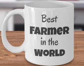 Best Farmer Ever, Best Farmer Gift, Best Farmer Mug, Gift for Farmers,Farmers Are The Best, Worlds Best Farmer, Farmer Husband Gift