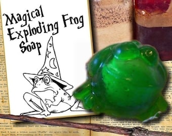 Kids Party Favors - Wizard Party Favors - EXPLODING FROG SOAPS - party favors - Harry Potter