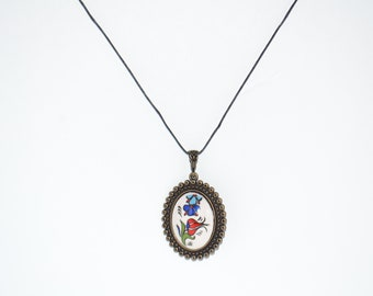 Hand Crafted Ceramic Necklace